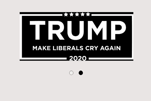 Make Liberals Cry 2020 Decal