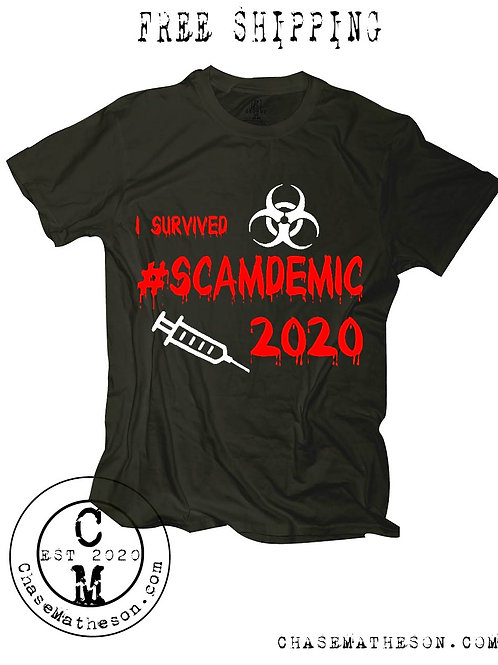I Survived Scamdemic 2020 T-Shirt