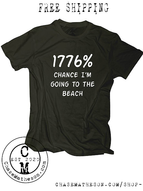 1776 Beach T Shirt