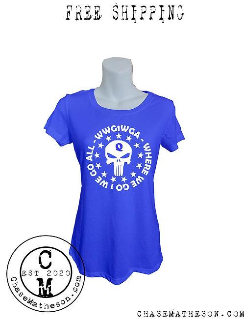 WWG1WGA Punisher Shirt