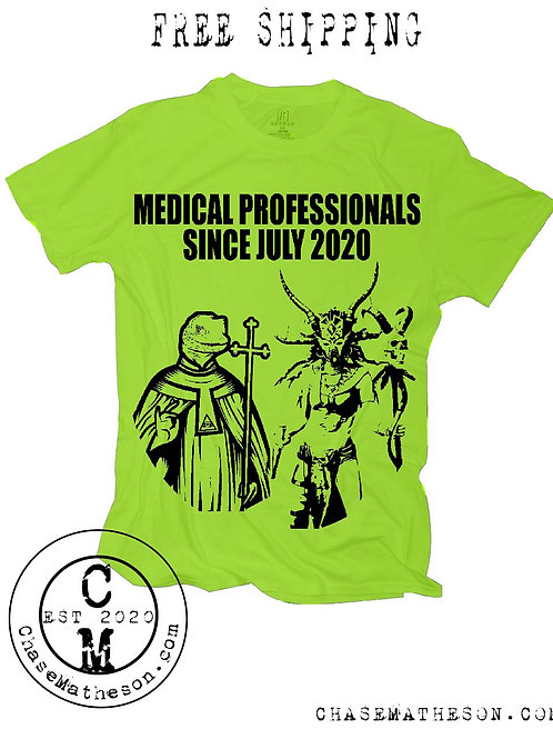 Witch Doctor Lizard Man Medical Professionals Shirt