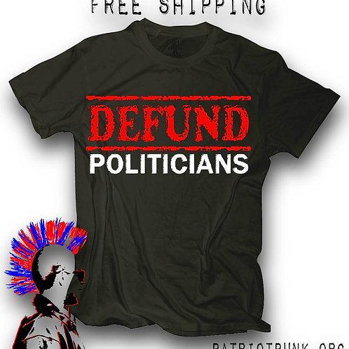 Defund Politicians