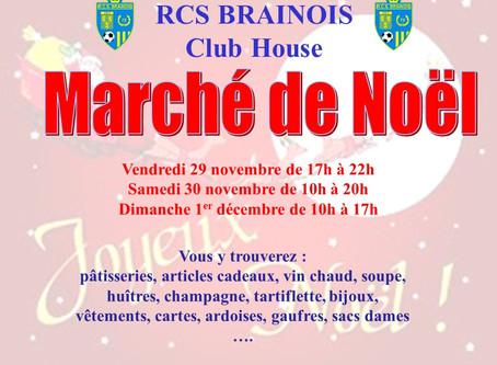 Marché de Noël au RCS Brainois