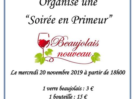 Soirée Beaujolais au RCSB