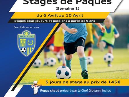 Stages au RCS Brainois