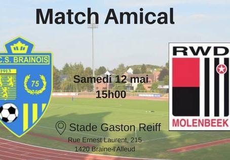 Match de gala RCSB – RWDM