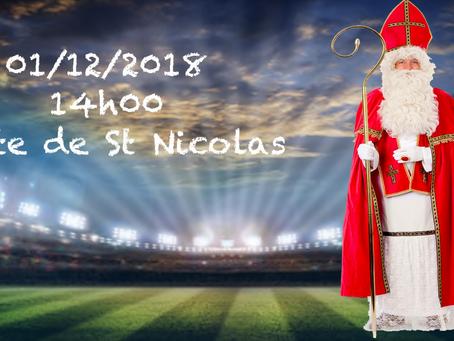 Visite de St Nicolas le 01/12/2018