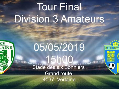 Tour final D3 Amateur