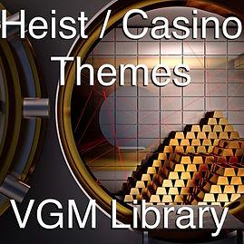 Royalty Free Audio, Game Music, Heist, Casino