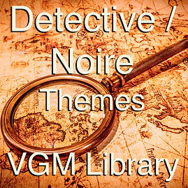 Royalty Free Audio, Game Music, Detective / Noire