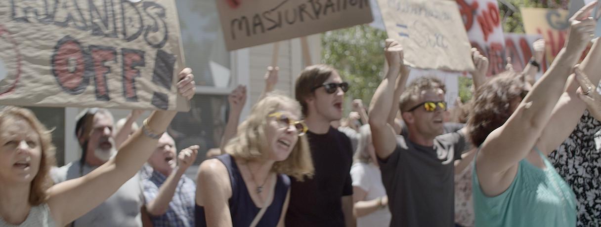 13a protest A One-Sided Affair.jpg