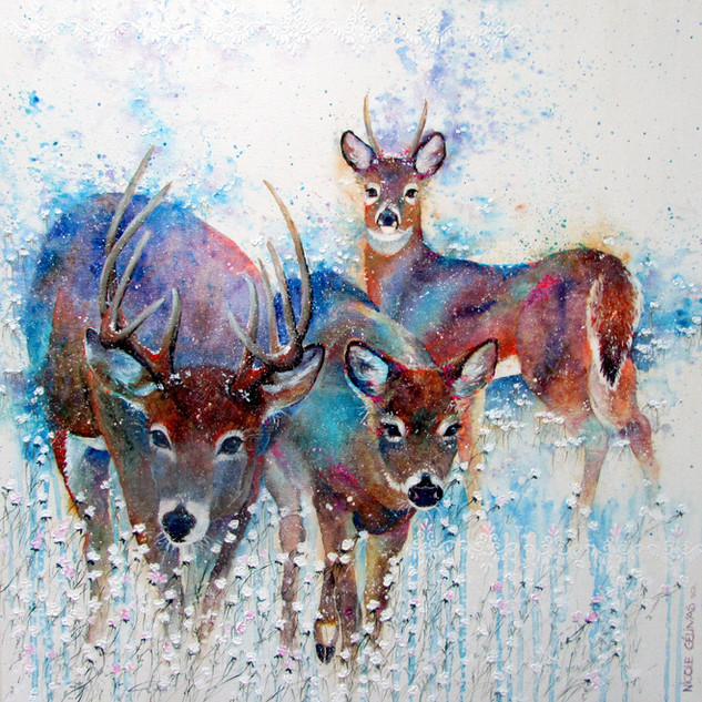 Trio de neige