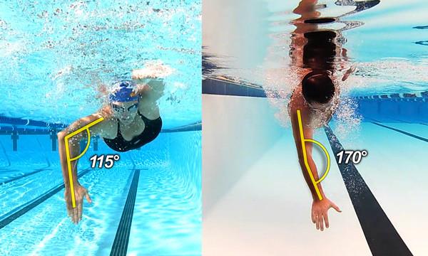Te mostramos comparativas de tu técnica con otros nadadores o triatletas para que en tiendas la mejor forma de hacerlo.