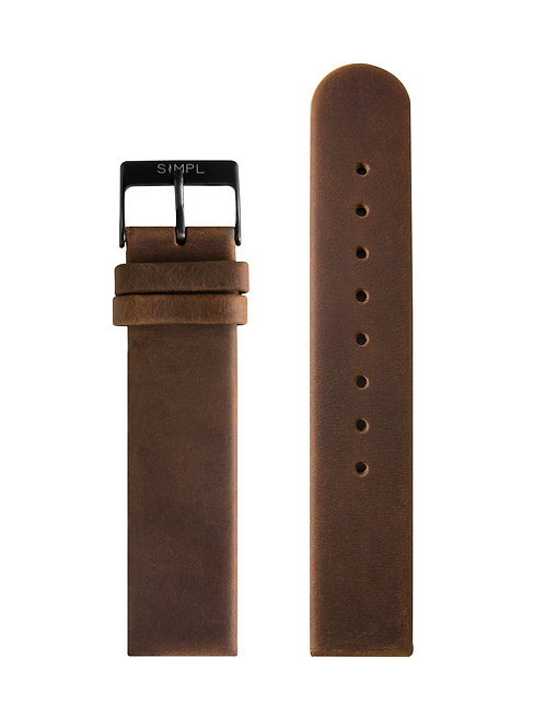 BROWN STRAP / BLACK BUCKLE