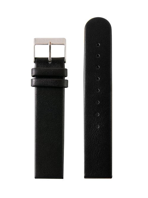 BLACK STRAP / SILVER BUCKLE