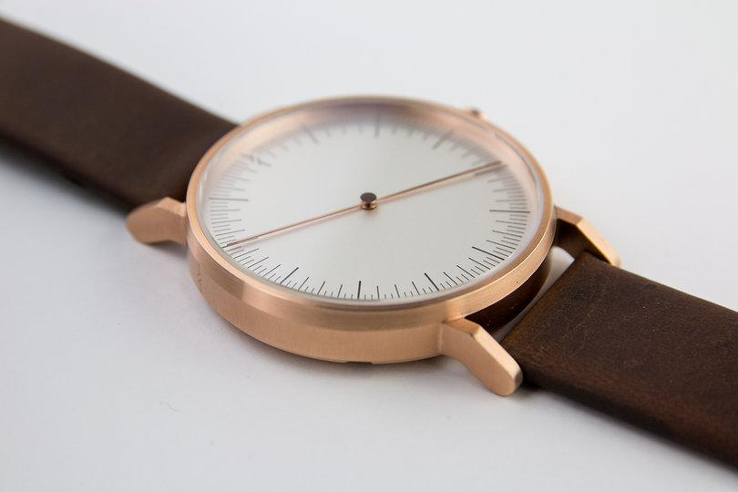 design watch , cool watch ,one hand , design watch , leather strap ,one hand watch , design watch , rose gold watch ,one hand watch ,simpl watches , นาฬิกา simpl , watch store ,modern watch , minimal watches, classic watch