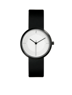 Monochrome ladies watch