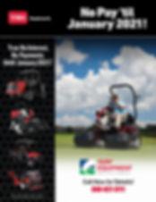 No Pay til Jan 2021 - Flyer - Golf-REVIS
