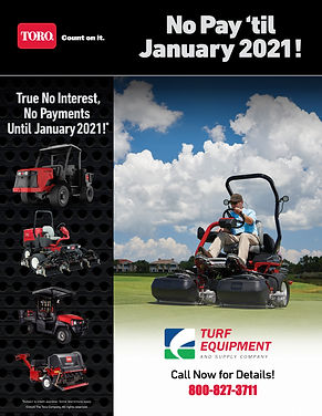 No Pay til Jan 2021 - Flyer - Golf-REVIS