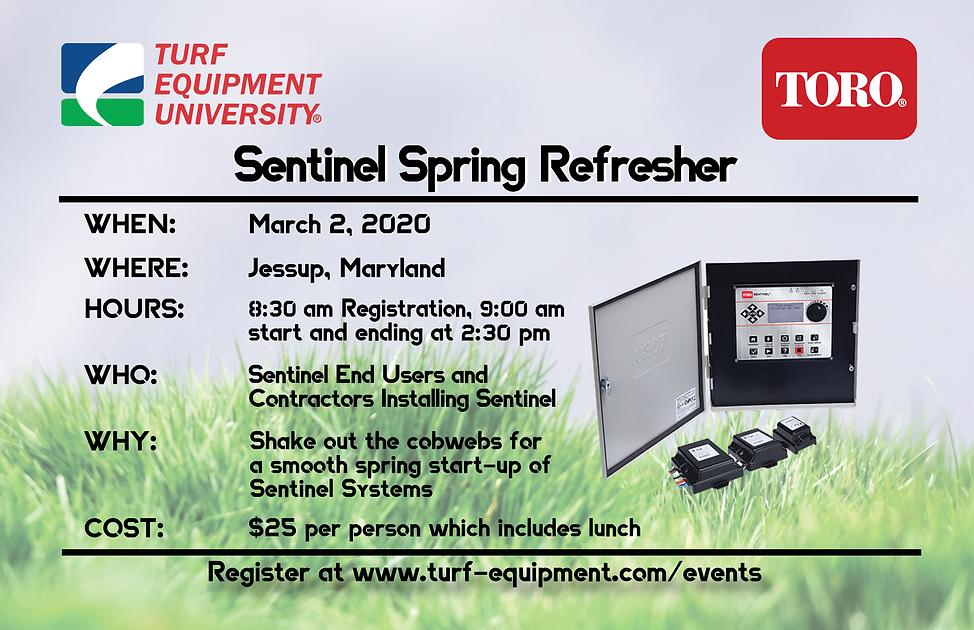 Sentinel Spring Refresher Seminar_DRAFT.