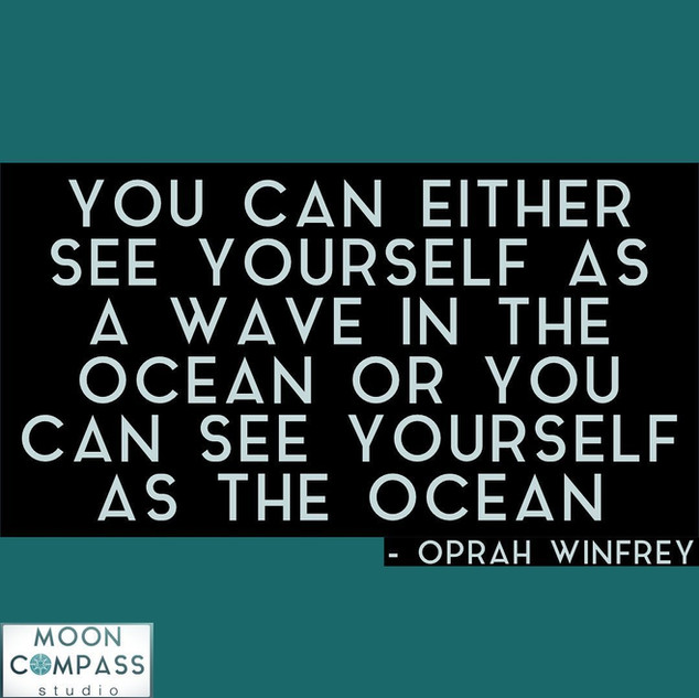 see yourself as the ocean
