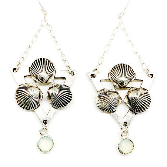 Sea Trinity Earrings
