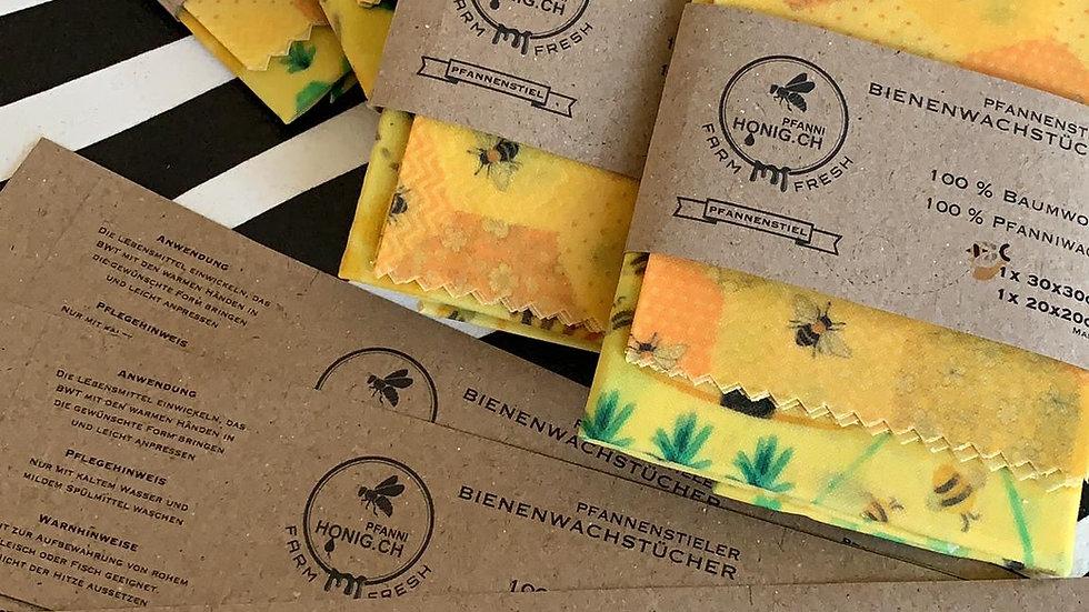 Pfannenstieler Bienenwachstücher Set