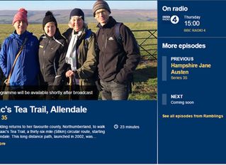 "DON'T MISS TODAY'S Radio 4 ""Ramblings"" with Clare Balding"