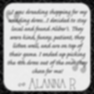 Alanna R's testimonial