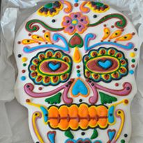 Day of the Dead Cookie