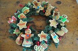 Christmas Ginger Bread Wreath