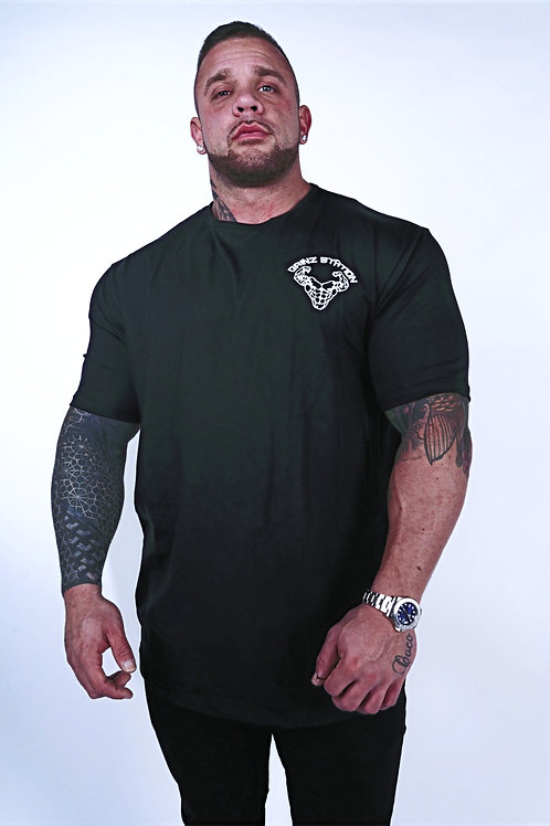 Stretch Fit T-Shirt - Black