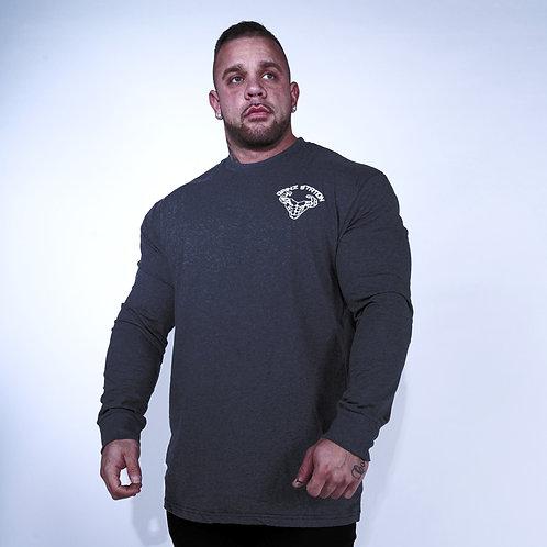 Long Sleeve T-Shirt - Charcoal
