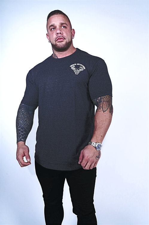 Stretch Fit T-Shirt - Charcoal