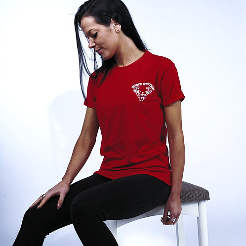 Stretch Fit T-Shirt - Red