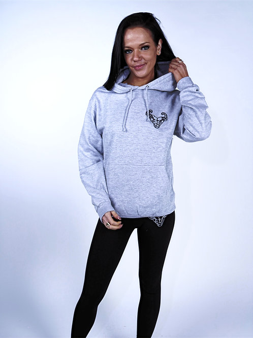 Relaxed Fit Hoodie - Grey