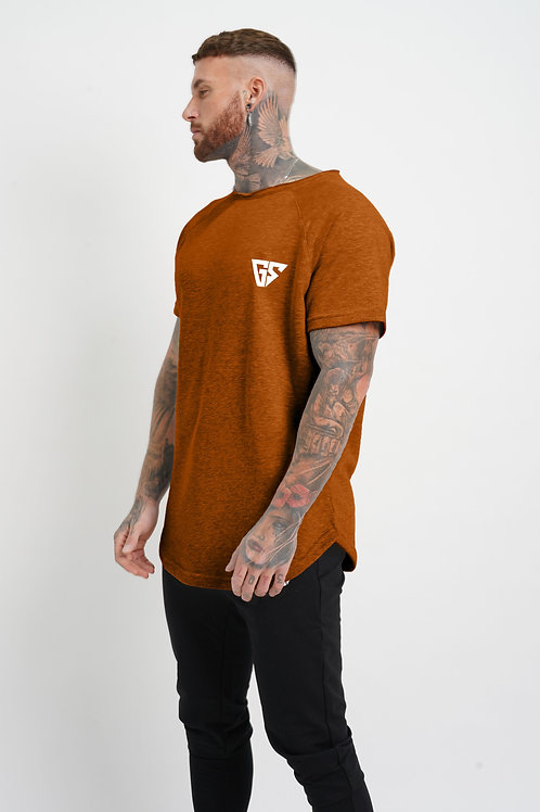 Legacy Tee - Sunburnt Orange