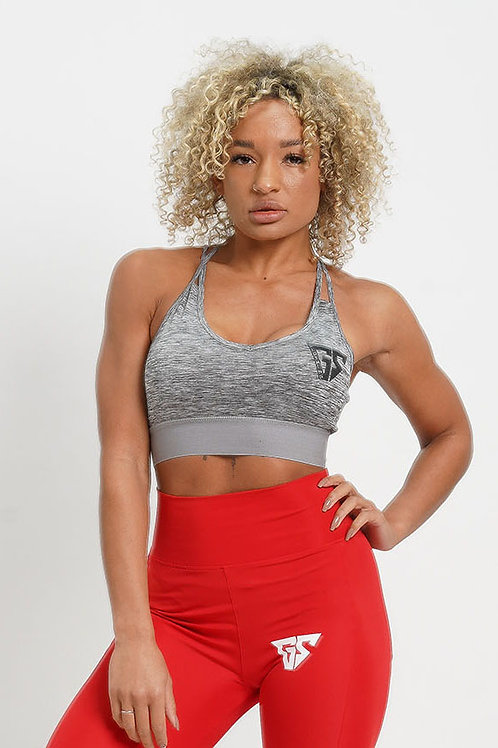 Elevate Sports Bra - Grey