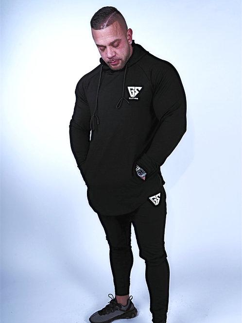 Aspire Light-Weight Hoodie - Black