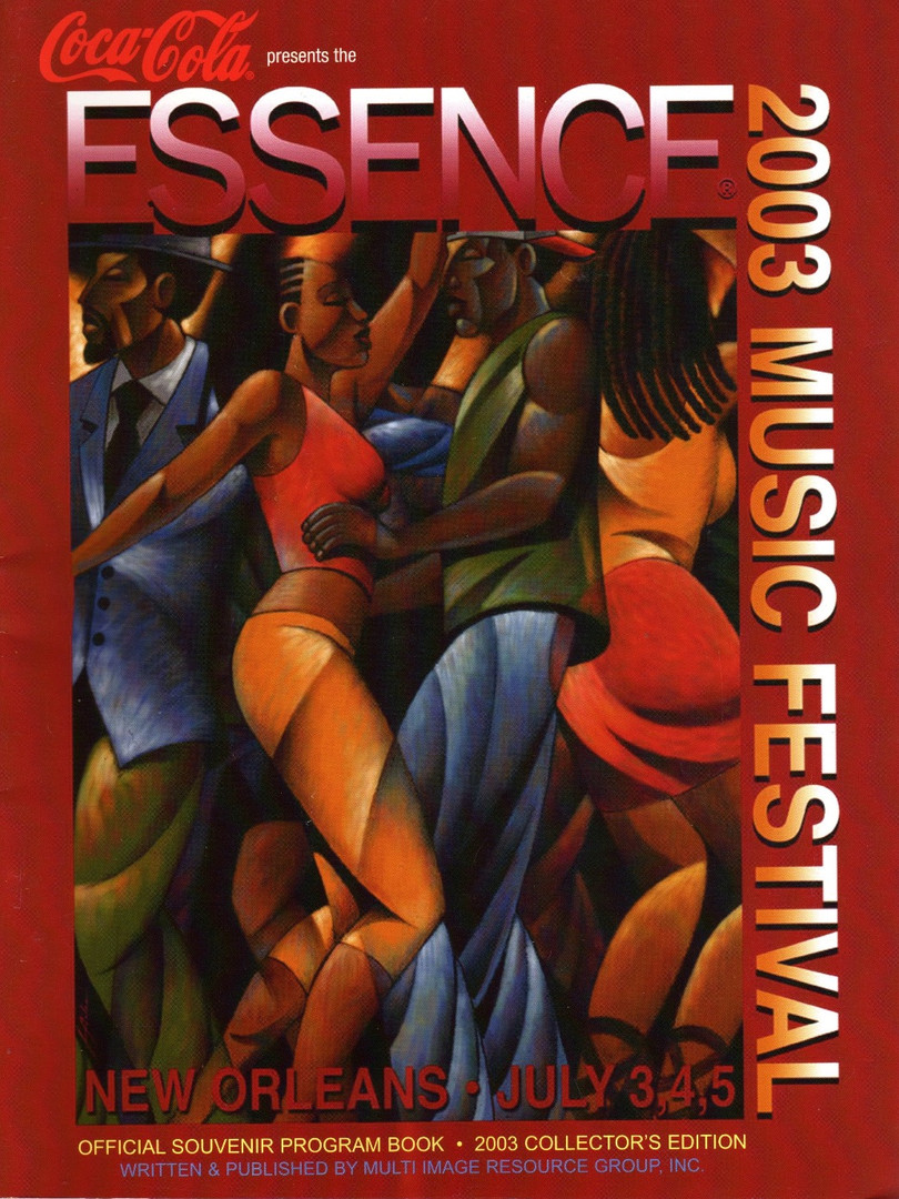 Essence Festival Program Book