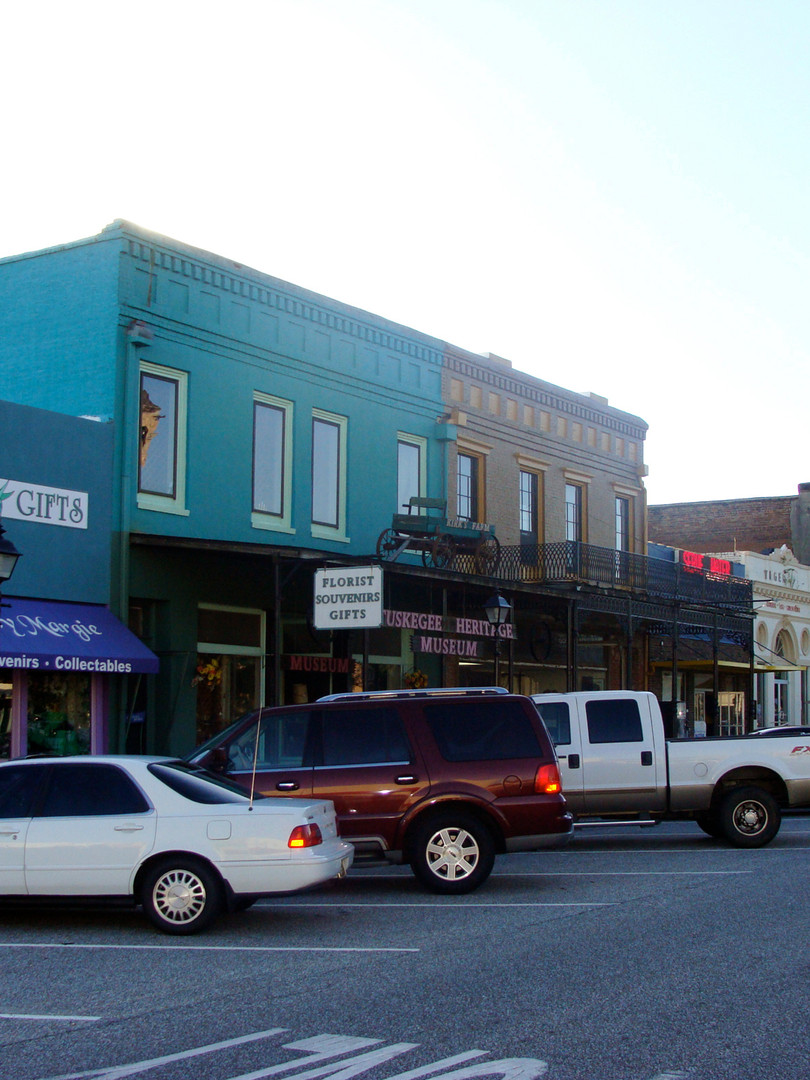 Downtown Tuskegee