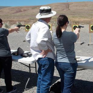 First Shots Ladies Shooting