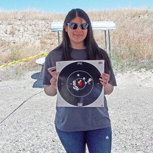 First Shots with Target
