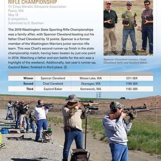 2019 WA State Sporting Rifle Championship