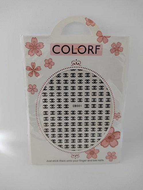 Stickers Coco noir
