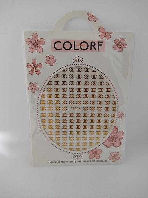 Stickers Coco doré