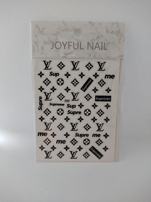 Stickers Louis Noir