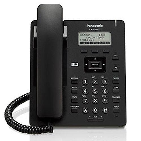 Teléfono Sip básico, pantalla 2.3 LCD, No PoE Modelo KX-HDV100LA
