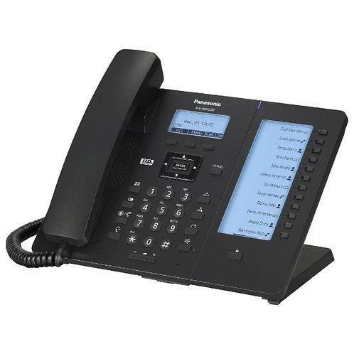 Tel SIP, sonido HD, LCD 2.3 pulg, 2 puertos GbE Modelo KX-HDV230