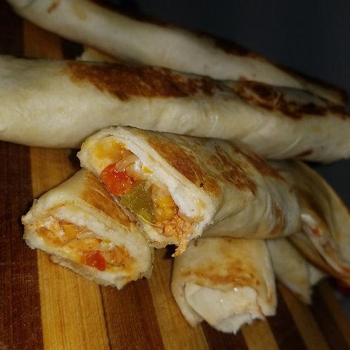 Toasted Mini Fajitas